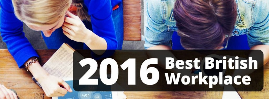 Best British Workplace 2016 Competition Image